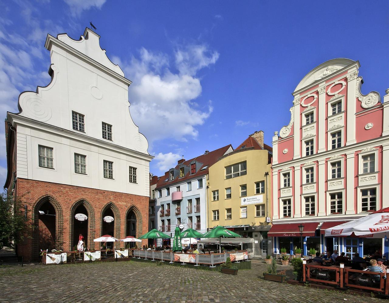 Wspaniałe miasto Szczecin