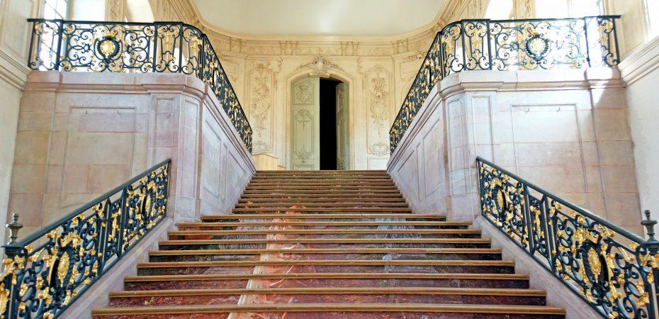 zaślubiny w palacu, schody